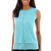 Worthington® Sleeveless Tank Top - Petite