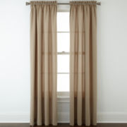 Home Expressions™ Devon 2-Pack Microfiber Rod-Pocket Curtain Panels