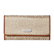 Relic® Logo Flap Checkbook Wallet