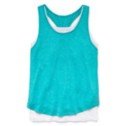 Xersion™ Double Layer Tank Top - Girls 7-16 and Plus