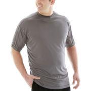Champion® Short-Sleeve Poly Performance Tee–Big & Tall