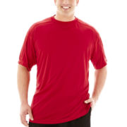 Champion® Short-Sleeve Poly Performance Tee–Big & Tall