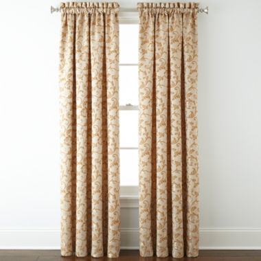 jcpenney.com | Royal Velvet® Sloane Rod-Pocket Curtain Panel