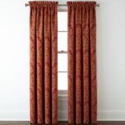 Royal Velvet® Manchester Rod-Pocket Curtain Panel