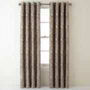 Royal Velvet® Blaine Blackout Grommet-Top Curtain Panel