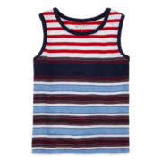 Arizona Multi-Striped Tank Top − Toddler Boys 2t-5t