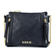XOXO® Debossed Crossbody Bag