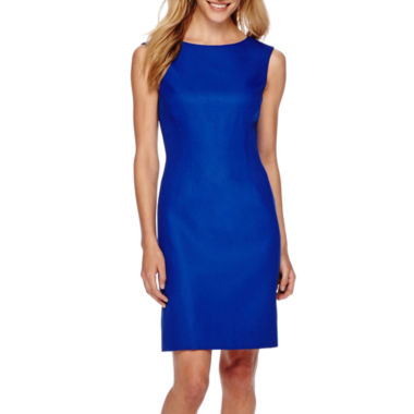 jcpenney.com | Chelsea Rose Sleeveless Linen Sheath Dress