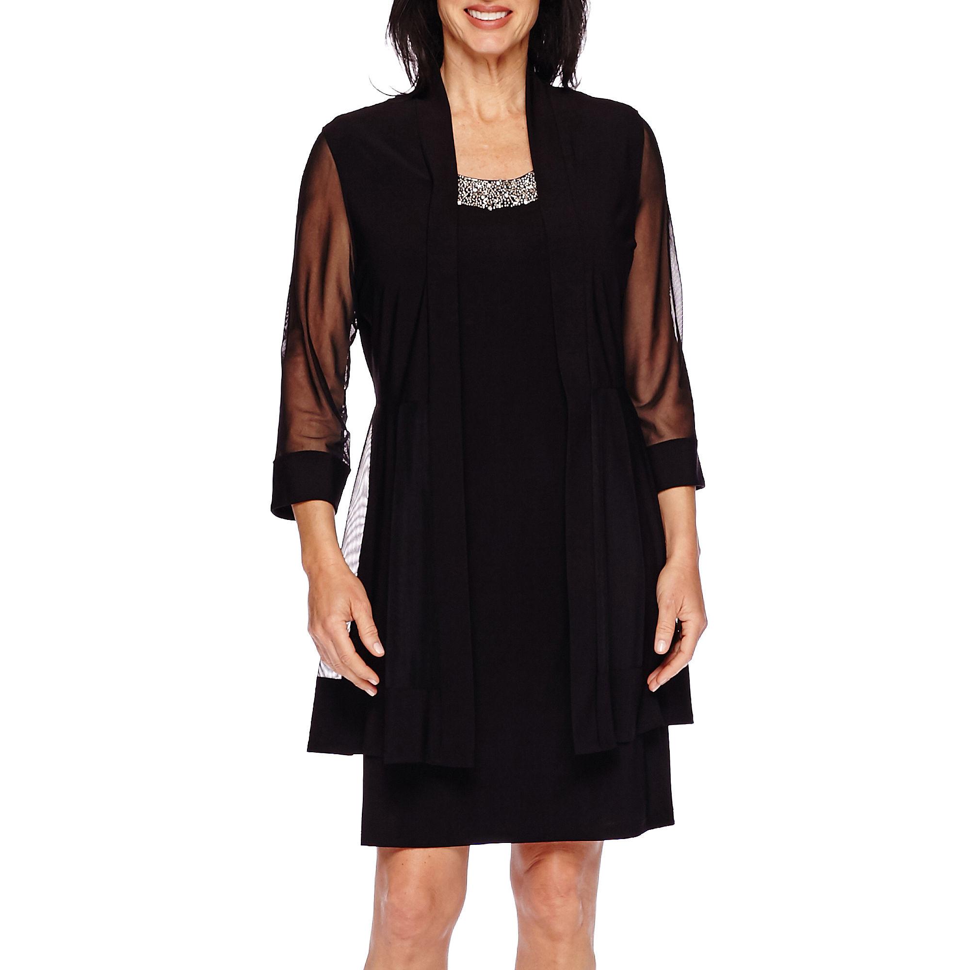 UPC 882191416057 - R & M Richards® Beaded Jacket Dress | upcitemdb.com