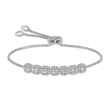 jcpenney.com | Rhythm and Muse Lab-Created White Sapphire Sterling Silver Bracelet