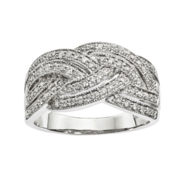 jcpenney.com | 1/2 CT. T.W. Diamond 14K White Gold Ring