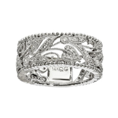 jcpenney.com | 1/3 CT. T.W. Diamond 14K White Gold Ring