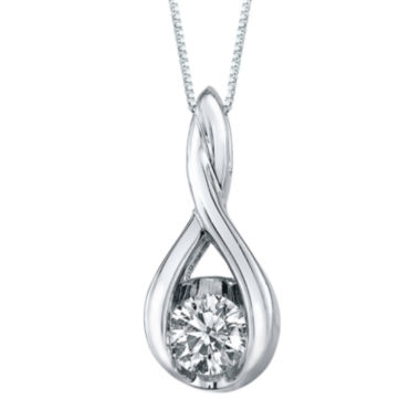 jcpenney.com | Sirena® ⅛ CT. T.W. Diamond 14K Gold Pendant Necklace