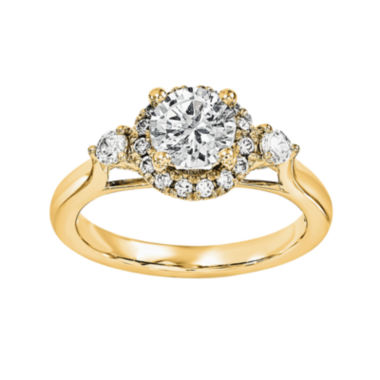 jcpenney.com | 3/4 CT. T.W. Diamond 14K Yellow Gold Engagement Ring