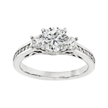 jcpenney.com | 5/8 CT. T.W. Diamond 14K White Gold 3-Stone Engagement Ring