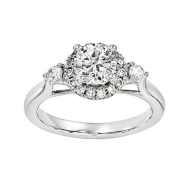 jcpenney.com | 3/4 CT. T.W. Diamond 14K White Gold Engagement Ring