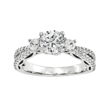 jcpenney.com | 1 3/4 CT. T.W. Diamond 14K White Gold 3-Stone Engagement Ring