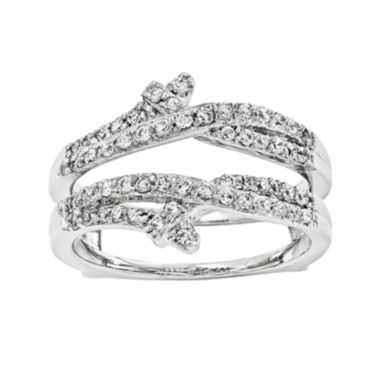 jcpenney.com | 1/2 CT. T.W. Diamond 14K White Gold Ring Guard