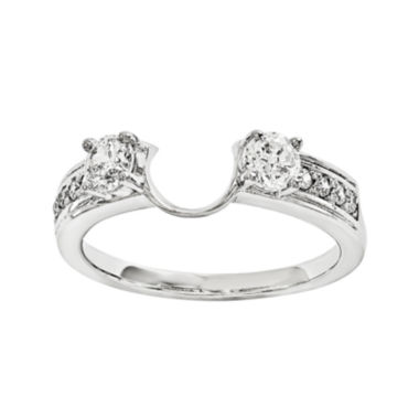 jcpenney.com | 5/8 CT. T.W. Diamond 14K White Gold Ring Wrap