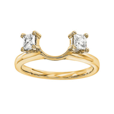 jcpenney.com | 1/3 CT. T.W. Diamond 14K Yellow Gold Ring Wrap