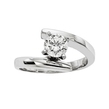 jcpenney.com | 1/2 CT. Diamond 14K White Gold Solitaire Ring