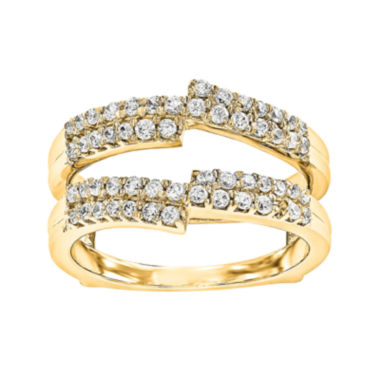 jcpenney.com | 5/8 CT. T.W. Diamond 14K Yellow Gold Ring Guard