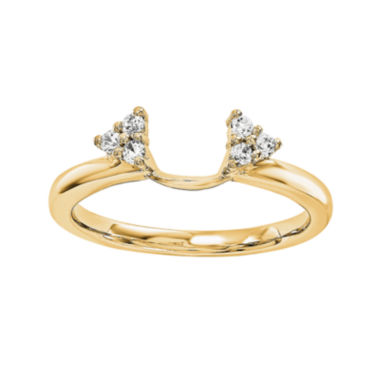 jcpenney.com | Diamond Accent 14K Yellow Gold Ring Wrap