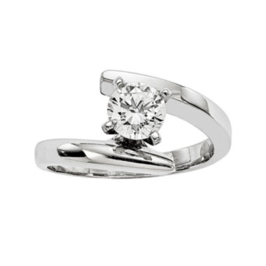 jcpenney.com | 3/4 CT. Diamond 14K White Gold Solitaire Ring