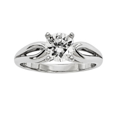 jcpenney.com | 1 CT. Diamond 14K White Gold Solitaire Ring