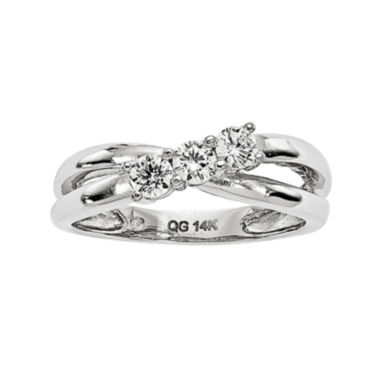 jcpenney.com | 1/3 CT. T.W. Diamond 14K White Gold 3-Stone Engagement Ring