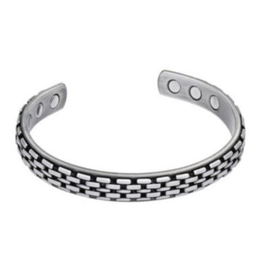 jcpenney.com | Men's Grey Stainless Steel Cuff Bracelet