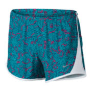 Nike® Print 10K Shorts - Girls 7-16