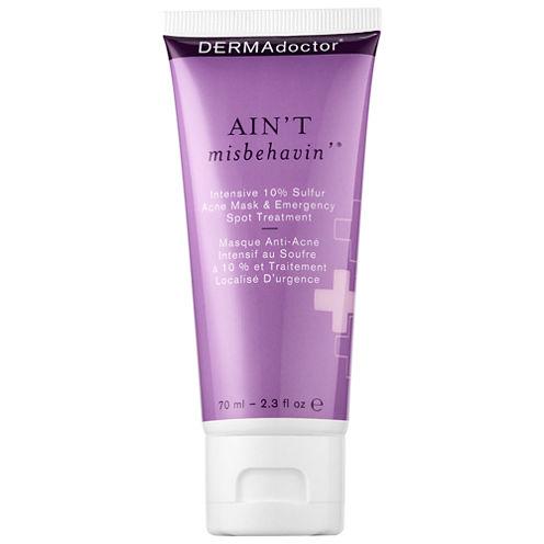DERMAdoctor Ain't Misbehavin'® Intensive 10% Sulfur Acne Mask & Emergency Spot Treatment