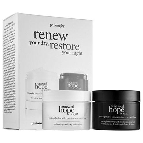 philosophy Renewed Hope In A Jar Day + Renewed Hope In A Jar Night Duo