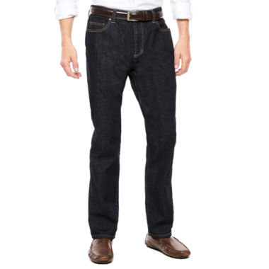 jcpenney.com | Claiborne® Rinse Denim Straight Leg Stretch Jeans