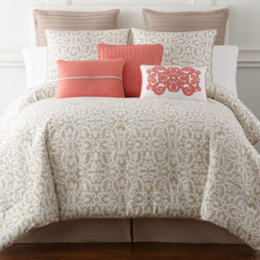 jcpenney home™ stonebridge 4-pc. comforter set & accessories