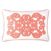 JCPenney Home™ Stonebridge Applique Oblong Decorative Pillow