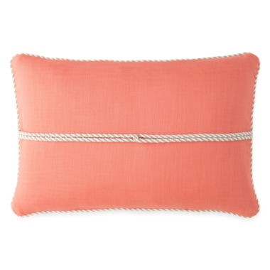 jcpenney.com | JCPenney Home™ Stonebridge Braided Oblong Decorative Pillow