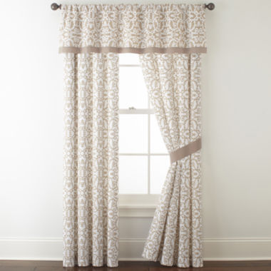 jcpenney.com | JCPenney Home™ Stonebridge 2-Pack Rod-Pocket Curtain Panels