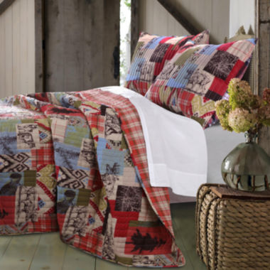 jcpenney.com | Greenland Home Fashions Rustic Lodge Quilt Set & Accessories