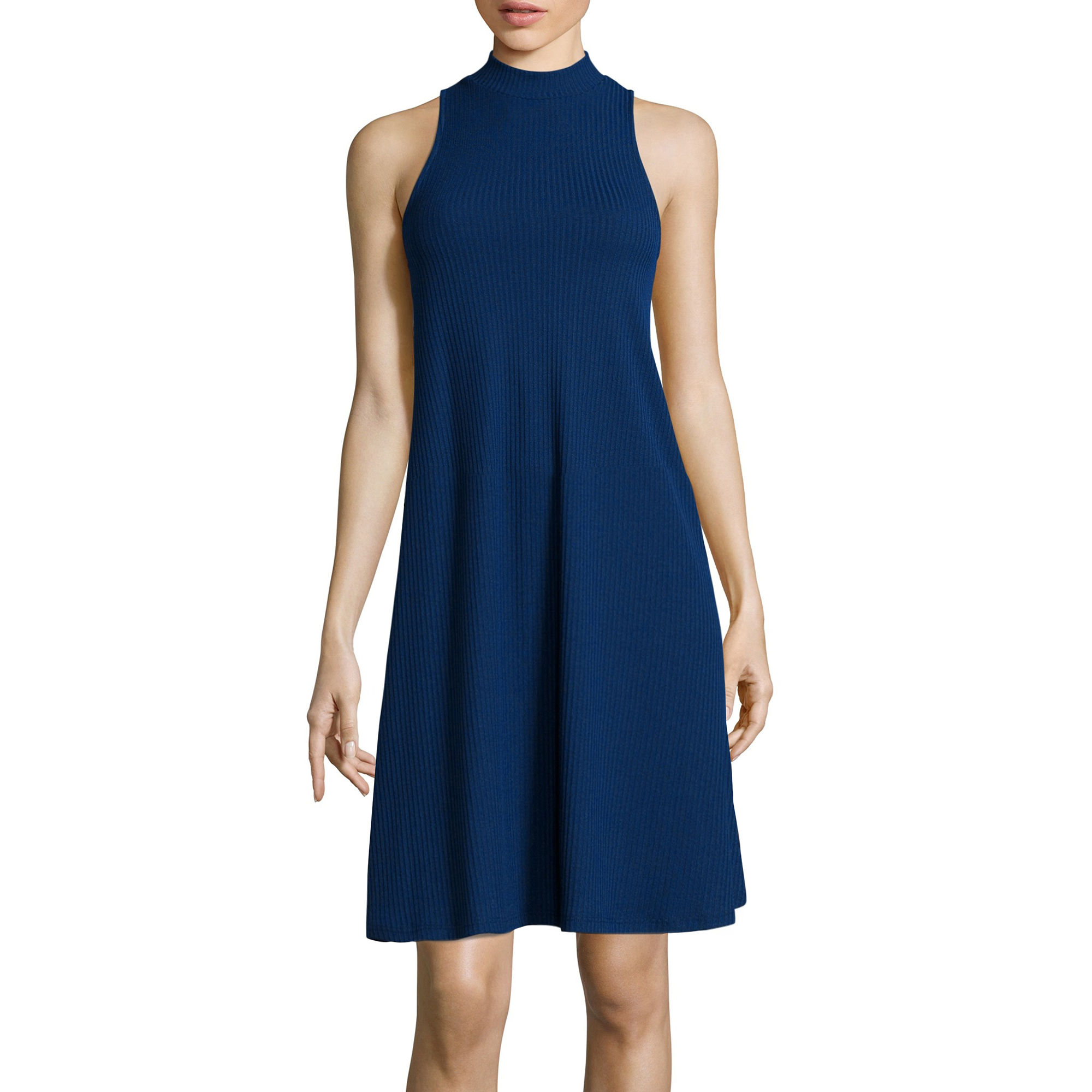 BELLE + SKY Sleeveless A-Line Swing Dress