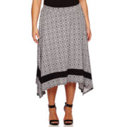 Alyx® Sharkbite Hem with Border Skirt - Plus