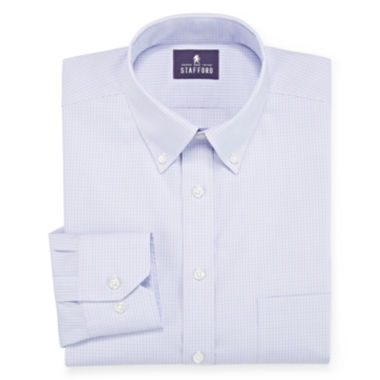 jcpenney.com | Stafford® Executive Non-Iron Pinpoint Oxford Dress Shirt - Big & Tall