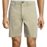 Arizona Flex Surfer Prep Flat-Front Shorts