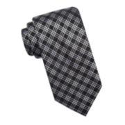 Stafford® Burnaby Geo Grid Silk Tie