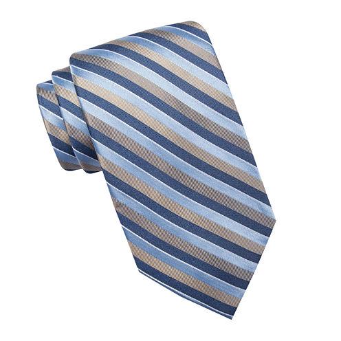 Stafford® Victoria Stripe Silk Tie