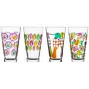 Sagaform® Fantasy Set of 4 Large Glasses