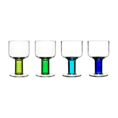 jcpenney.com | Sagaform® Club Series Set of 4 All-Purpose Glasses