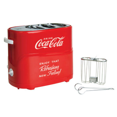 jcpenney.com | Nostalgia HDT600COKE Coca-Cola Pop-Up Hot Dog Toaster
