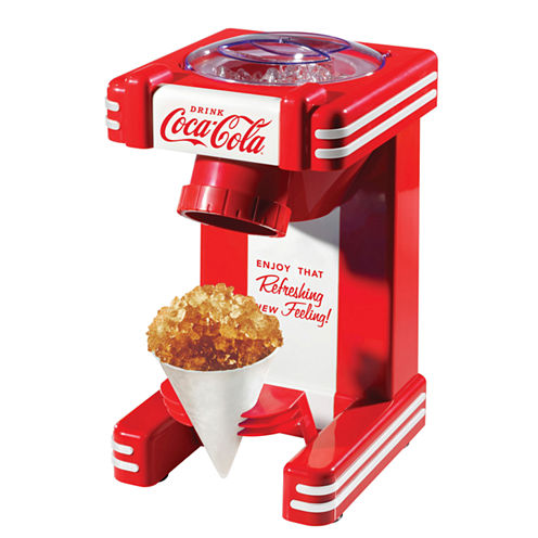 Nostalgia RSM702COKE Coca-Cola Single Snow Cone Maker